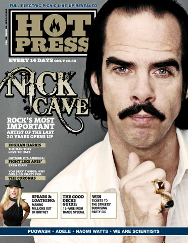 Hot Press 32-06: Nick Cave