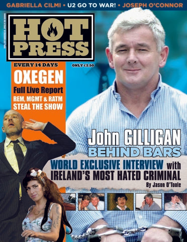 Hot Press 32-14: John Gilligan