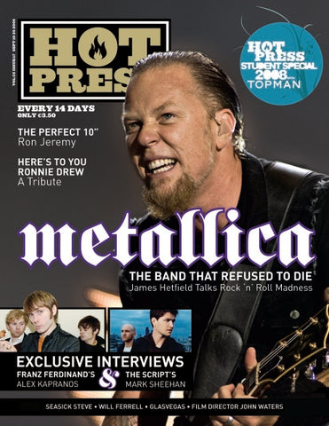 Hot Press 32-17: Metallica