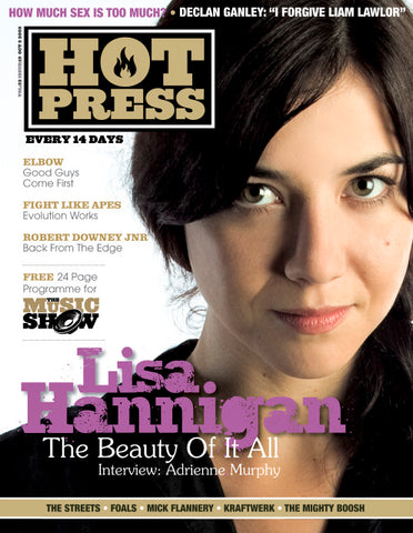 Hot Press 32-19: Lisa Hannigan