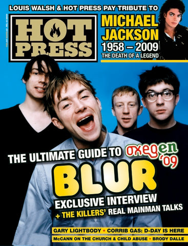 Hot Press 33-13: Blur