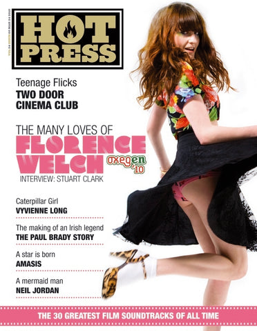Hot Press 34-05: Florence Welch