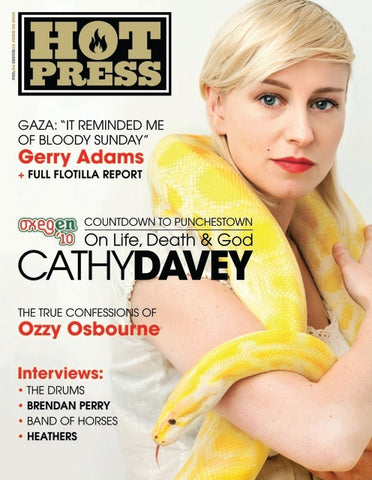 Hot Press 34-12: Cathy Davey
