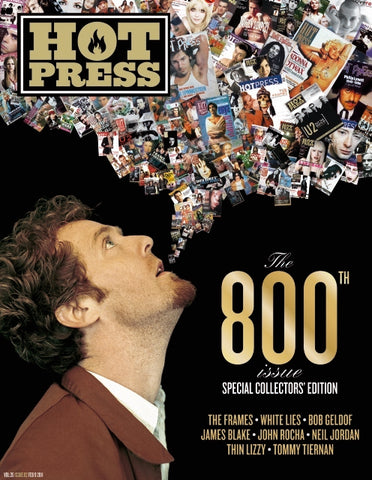 Hot Press 35-02: Glen Hansard 800th issue Special