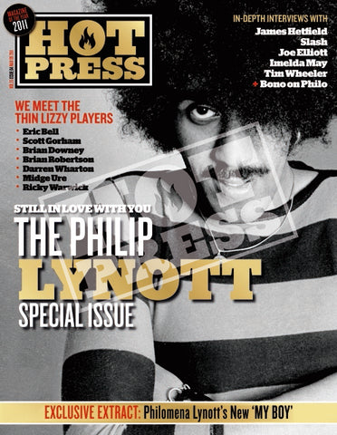 Volume 35 Issue 04 Still in Love with you Philip Lynott Commemorative Print