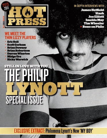 Hot Press 35-04: Philip Lynott