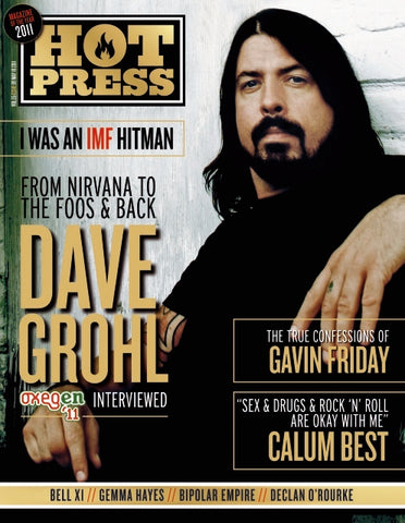 Hot Press 35-09: Dave Grohl