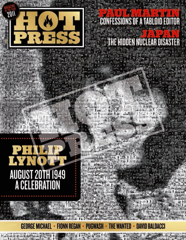 Volume 35 Issue 16 Philip Lynott Commemorative Print