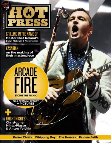 Hot Press 35-18: Arcade Fire