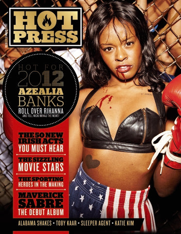 Hot Press 36-01: Azealia Banks