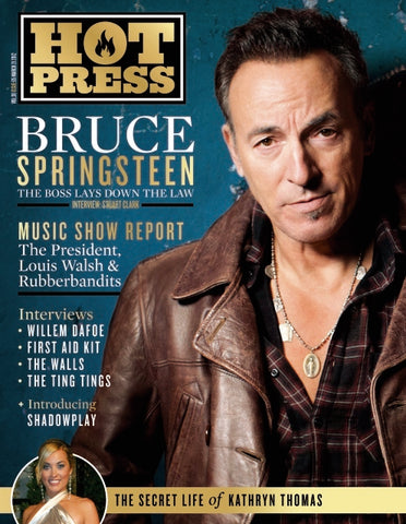 Hot Press 36-05: Bruce Springsteen