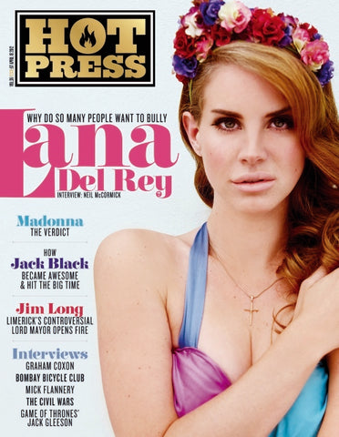 Hot Press 36-07: Lana Del Rey