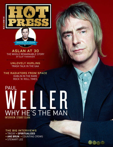 Hot Press 36-08: Paul Weller, Aslan