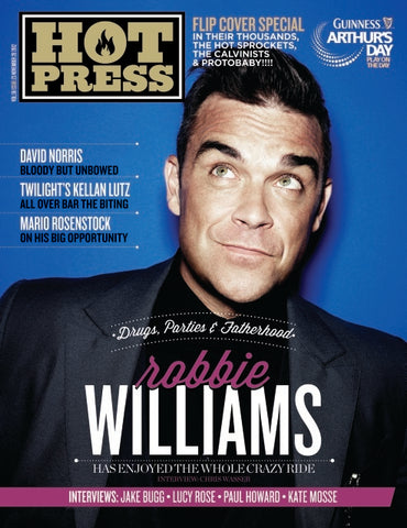 Hot Press 36-23: Robbie Williams