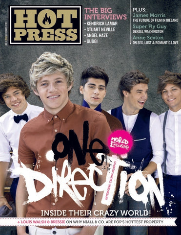 Hot Press 37-02: One Direction
