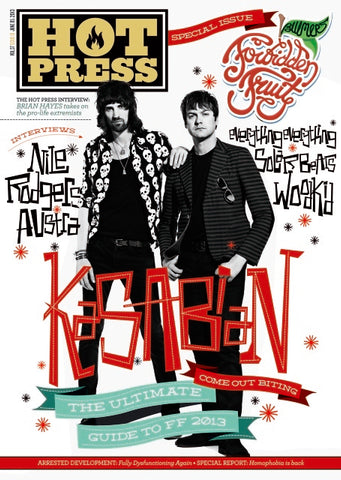 Hot Press 37-10: Kasabian