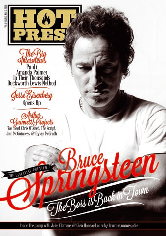 Hot Press 37-13: Bruce Springsteen