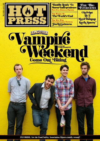 Hot Press 37-14: Vampire Weekend