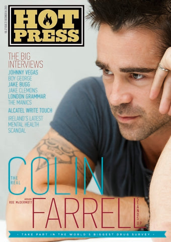 Hot Press 37-23: Colin Farrell