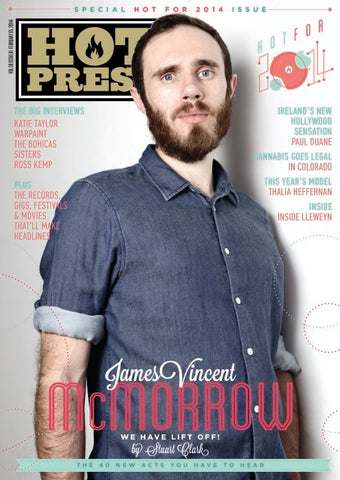 Hot Press 38-01: James McMorrow