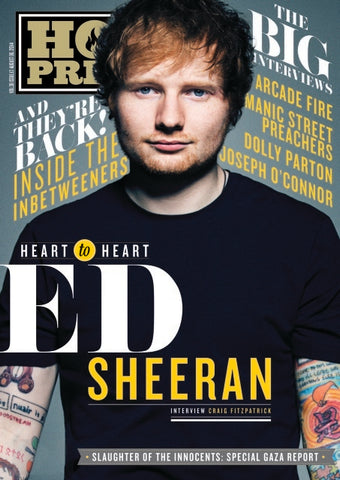 Hot Press 38-13: Ed Sheeran