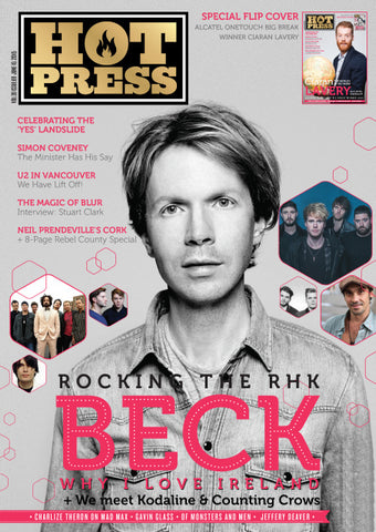Hot Press 39-09: Beck and Ciaran Lavery
