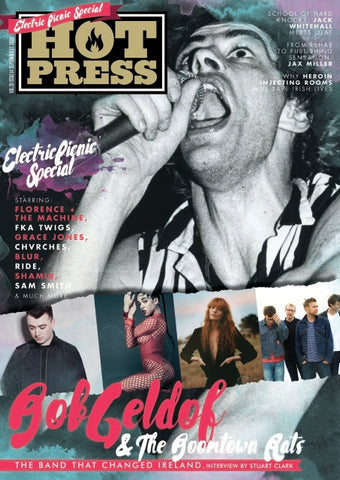 Hot Press 39-14: Bob Geldof and Electric Picnic