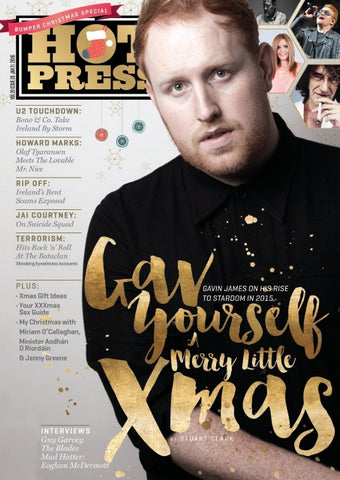 Hot Press 39-21: Gavin James