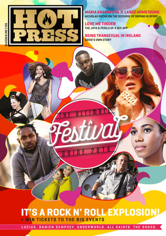 Hot Press 40-06: Festival Cover