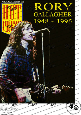 Rory Gallagher Poster 19-13