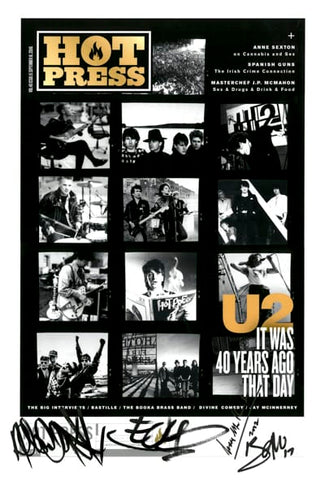 40.17 U2 Joshua Tree Anniversary / Black,White,Gold.