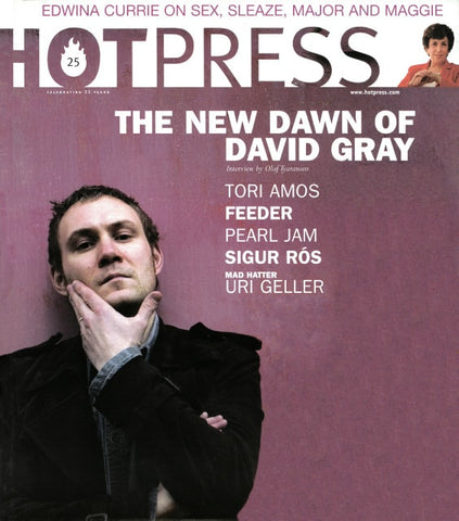 Hot Press 26-22: David Gray