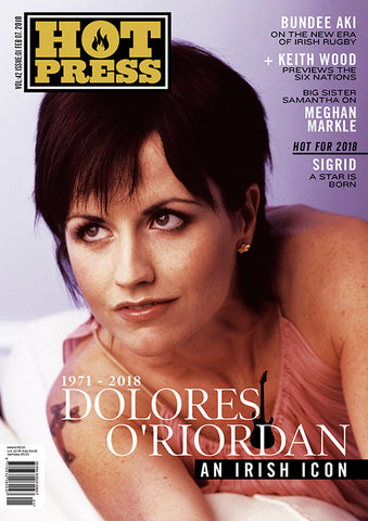 Hot Press 42-01: Dolores O'Riordan