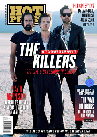 Hot Press 42-08: The Killers