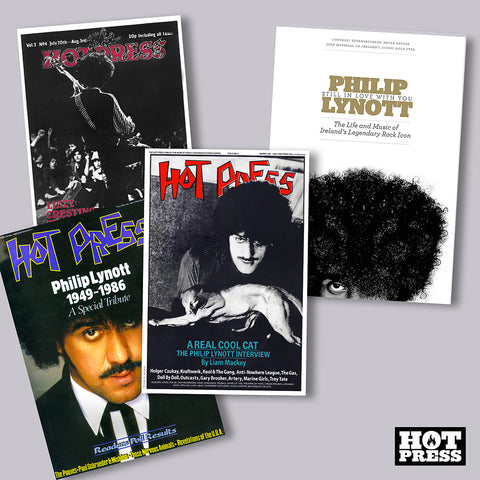 THE ROCKER'S THIN LIZZY/PHILIP LYNOTT PACKAGE