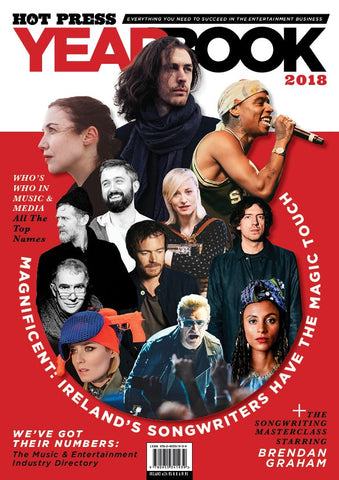 Hot Press Yearbook 2018 Special 5 Copies