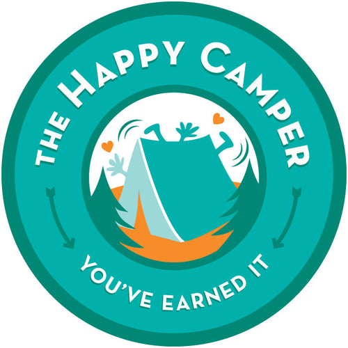Happy Camper Badges