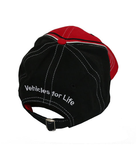 Red and Black REV Hat