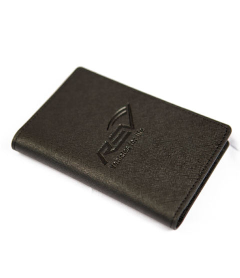 Genuine Leather RFID Booklet/Passport Holder