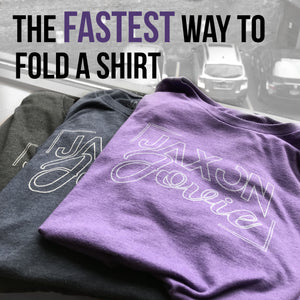 The Fastest Way to Fold a Shirt