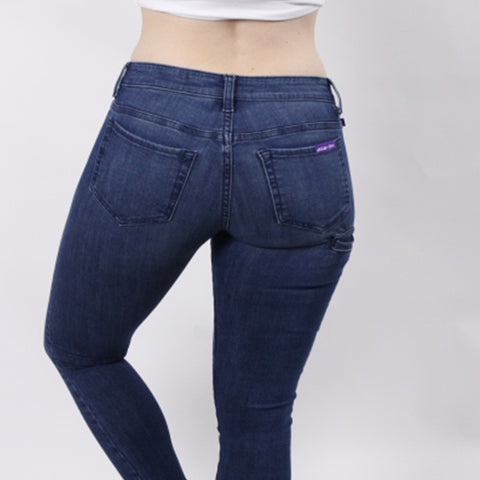 Jaxon Jovie Womens Athletic Fit Jeans Wide Hips