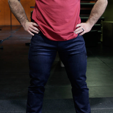 Jaxon Jovie Athletic Fit Jeans Muscular Thighs