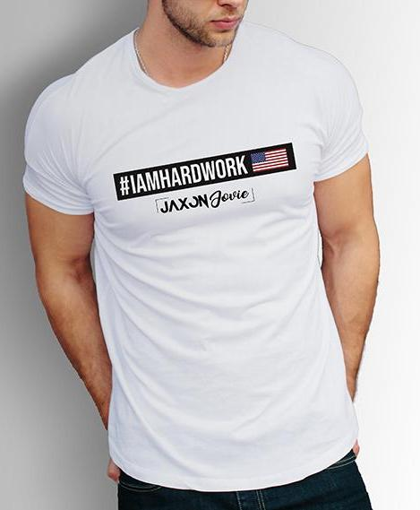 Men's All-American #IAMHARDWORK T-Shirt