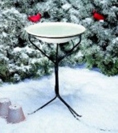 Heated Bird Bath w/Stand