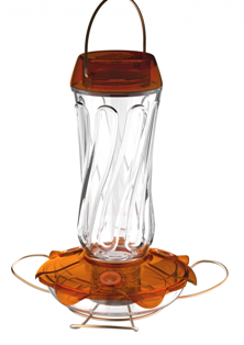 Classic  Glass Oriole Feeder