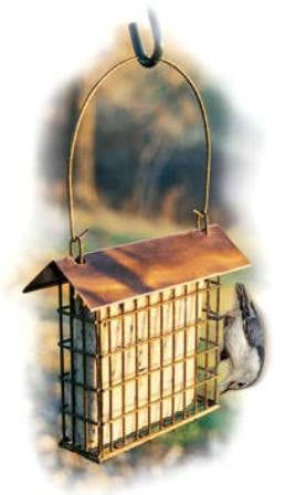 Coppertop Single Suet Cage