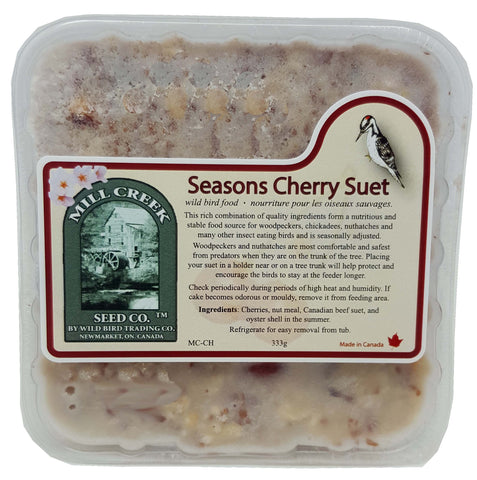 Seasons Cherry Suet Cake