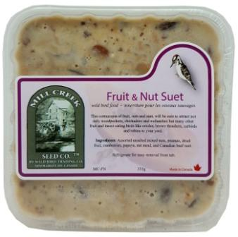 Mill Creek Suet Fruit & Nut