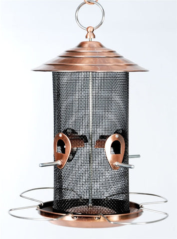 Copper Mesh Mixed Seed Feeder