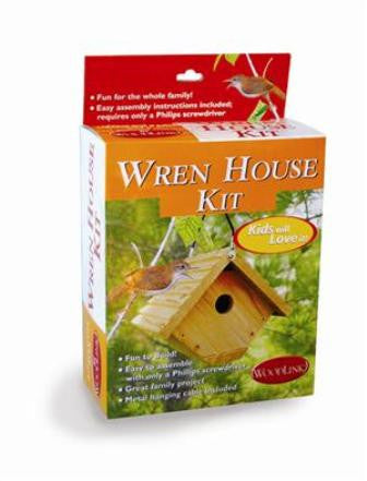 "Wren House Kit 1 1/8"" hole"